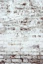 Old Red Brick Wall With Whitewash Backround Texture Royalty Free Stock Photo