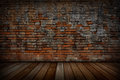 The Old Red Brick Walls And Wo...