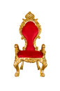 Old red chair Royalty Free Stock Photo