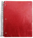 Old red notebook Royalty Free Stock Photo