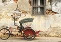 Old Red Rickshaw