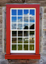 Old Red window Royalty Free Stock Photography