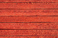 Old red wood panels grunge used as background Royalty Free Stock Photo