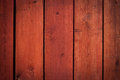 Old red wooden planks for background texture Stock Images