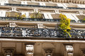 Old renovated apartments in Paris Stock Images
