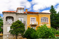 Old renovated villa on Adriatic sea resort Royalty Free Stock Photo