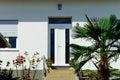 Old renovated villa on Adriatic sea resort Royalty Free Stock Photo