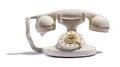 Old retro telephone Royalty Free Stock Photo