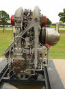 Old rocket engine Royalty Free Stock Photo