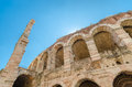 Old roman arena, ancient roman ampitheater in Verona, Italy Royalty Free Stock Photo