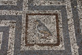 Old roman mosaic floor in Kos city Royalty Free Stock Photo