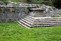 Old roman ruins in fiesole in italy Stock Photography