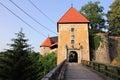 Old romantic castle in croatia Royalty Free Stock Photo