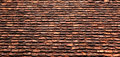 Old roof tile pattern textured Royalty Free Stock Images