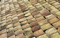 Old roof tiles traditional tile to cover the house Royalty Free Stock Photos