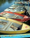 Old Row Boats Royalty Free Stock Photo