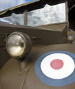 Old Royal Air Force Military Car Royalty Free Stock Image