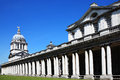 Old royal naval college designed by sir christopher wren and built between as greenwich hospital in greenwich england uk the was Royalty Free Stock Image