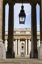 Old royal naval college greenwich in london is listed as unesco world heritage Stock Photos