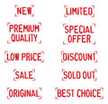 Old Rubber Stamp Collection 04 Royalty Free Stock Photo