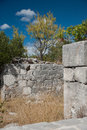 Old ruin in igrane dalmatia croatia Royalty Free Stock Photo