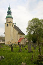Old ruined and neglected church adrspach czech republic Stock Photo