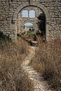 Old ruins in Sicily Royalty Free Stock Photo