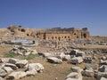 Old ruins turkey close by marmaris Royalty Free Stock Photo