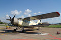Old Russian AN-2 aircraft Royalty Free Stock Photo