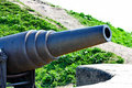 Old Russian Cannon Royalty Free Stock Photo