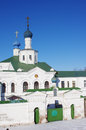 Old russian monastery in ryazan russia Royalty Free Stock Image