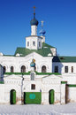 Old russian monastery in ryazan russia Royalty Free Stock Photography
