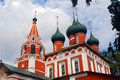 Old Russian orthodox church building. Royalty Free Stock Photo