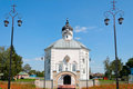 Old Russian orthodox church in Starodub Russia Stock Photography