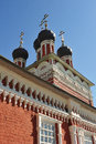 Old Russian Orthodox Church in the town of Bolkhov Royalty Free Stock Photo