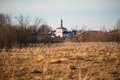 Old russian town landscape with church view of suzdal cityscape Royalty Free Stock Photos