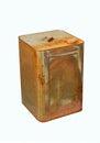 Old rust bucket Royalty Free Stock Photo