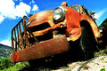 Old rusted American Truck Royalty Free Stock Photo