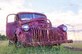 Old Rusted Chevy Pickup Truck
