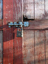 Old rusted lock Royalty Free Stock Photos