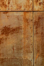 Old rusted tin background and texture Stock Photography