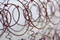 Old rusted wire netting Stock Image