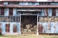 Old rustic animal barn