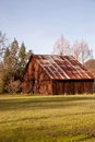 The old rustic barn Stock Image
