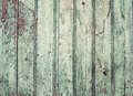 Old rustic painted cracky green turqouise wooden texture or background Stock Photos