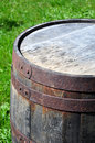 Old rusty barrel Royalty Free Stock Photo