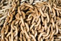 Old rusty chain Royalty Free Stock Photo