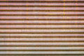 Old rusty corrugated metal sheet Royalty Free Stock Photo