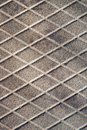 rusty diamond metal plate texture pattern used as abstract background Royalty Free Stock Photo