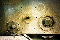 Old rusty machine tool industrial background image Stock Photography